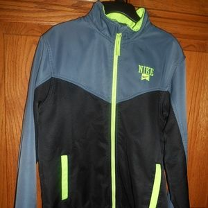Nike Jacket Boys Size M (age 10-12) Full Zip